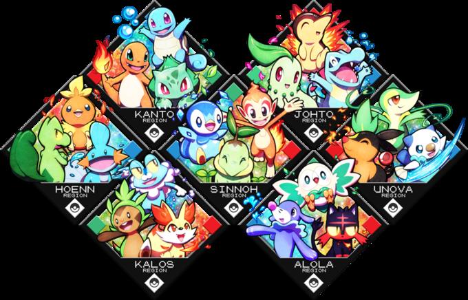 ¿Qué Pokémon inicial escoges? D99