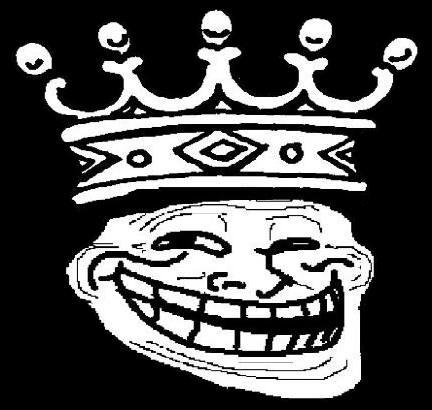 Trollface King Transparent   Trollface / Coolface ...