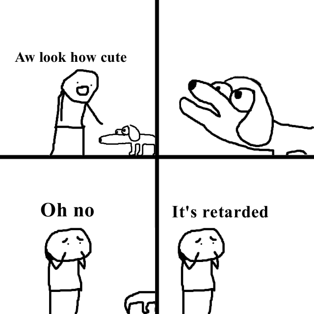 Hq template oh no its retarded know your meme pronofoot35fo Images