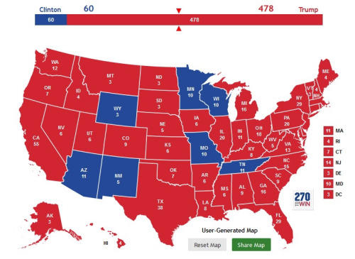 182 electoral college map parodies know your meme
