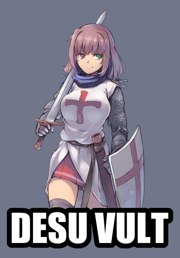 Desu Vult Deus Vult Know Your Meme