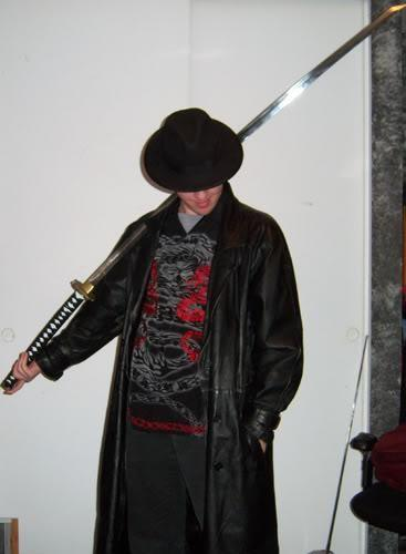 510 fedora trench coat bro katana know your meme