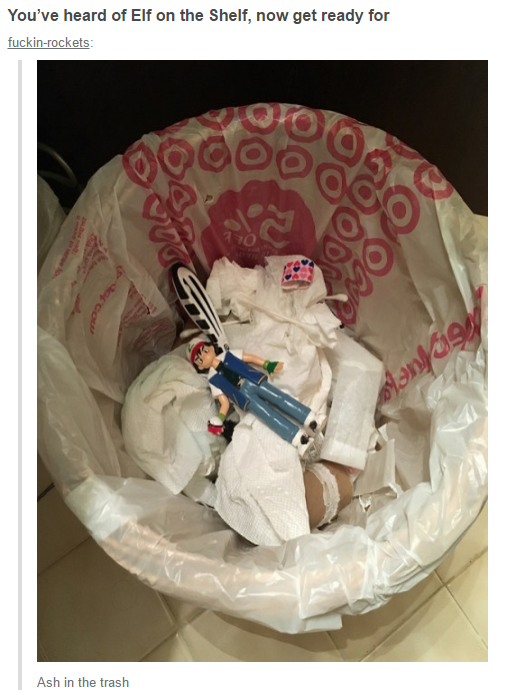 The meme that started it all,Ash in the Trash