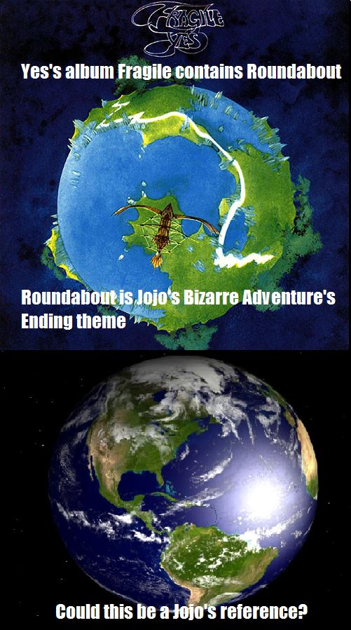 734 jojo is everywhere jojo's bizarre adventure know your meme