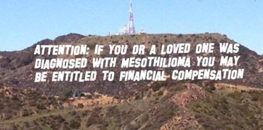 6f0 hollywood sign parody mesothelioma ad copypasta know your meme
