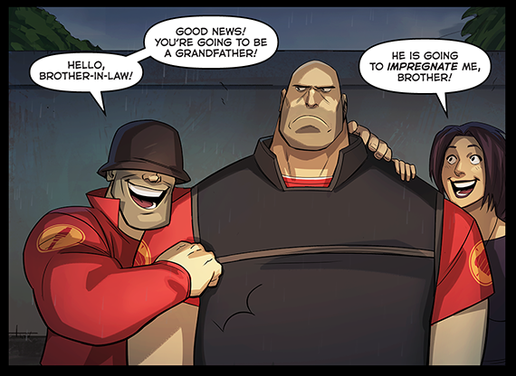 b22 and the heavy is going to be grandpa team fortress 2 know your meme