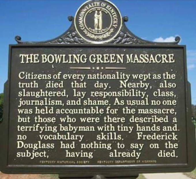 As a Bowling Green survivor, I support this message. No, it's not real.