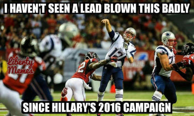 9c5 i haven't seen a lead blown this badly super bowl li know your