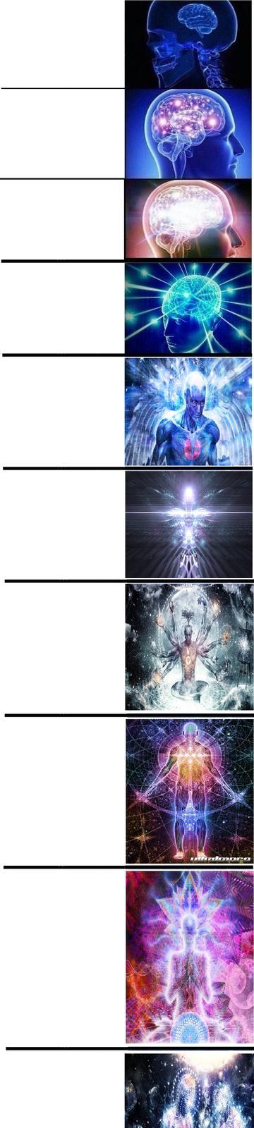Expanding Brain template   Expanding Brain   Know Your Meme