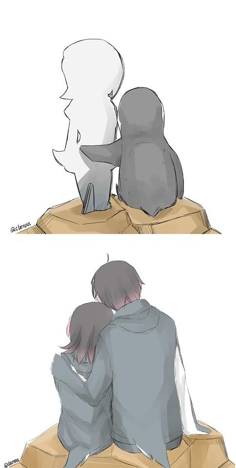 Grape-Kun artwork about how his love for Hululu is the love everyone has for her