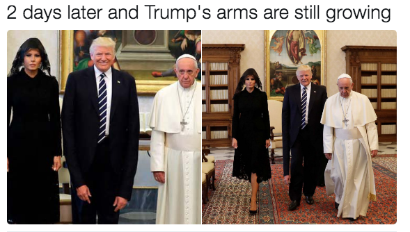 838 life after orb the trumps meet pope francis know your meme,Pope Francis Trump Meme