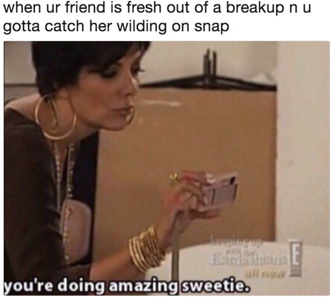 3f5 you're doing amazing sweetie know your meme