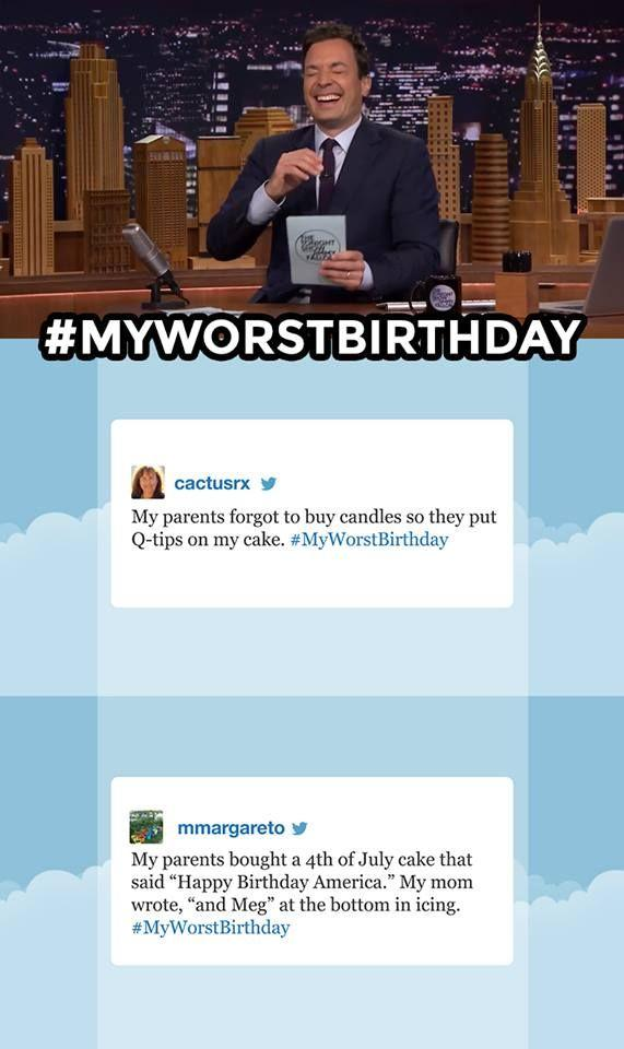 7bf my worst birthday hashtags jimmy fallon know your meme