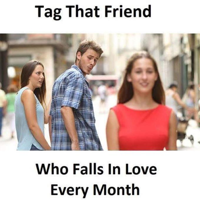 52d distracted boyfriend know your meme