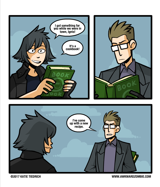 ca1 cooking the books final fantasy xv know your meme
