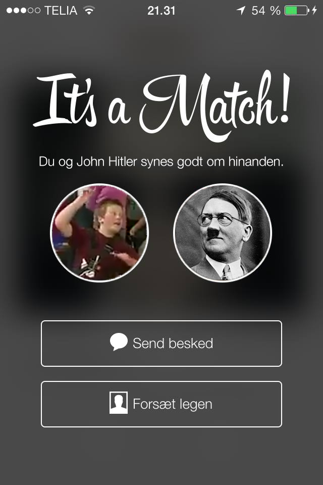 klær match tinder for pc