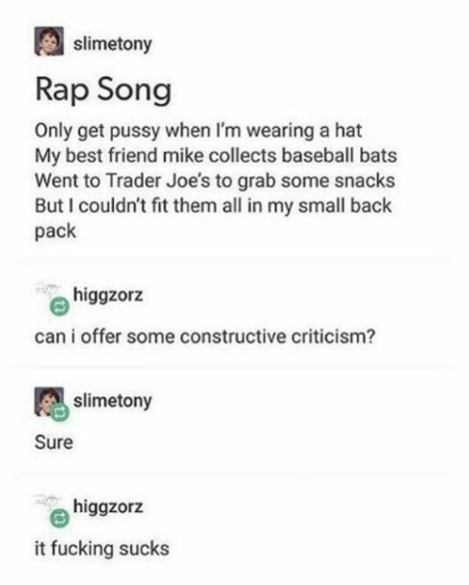 Do You Take Constructive Criticism Know Your Meme