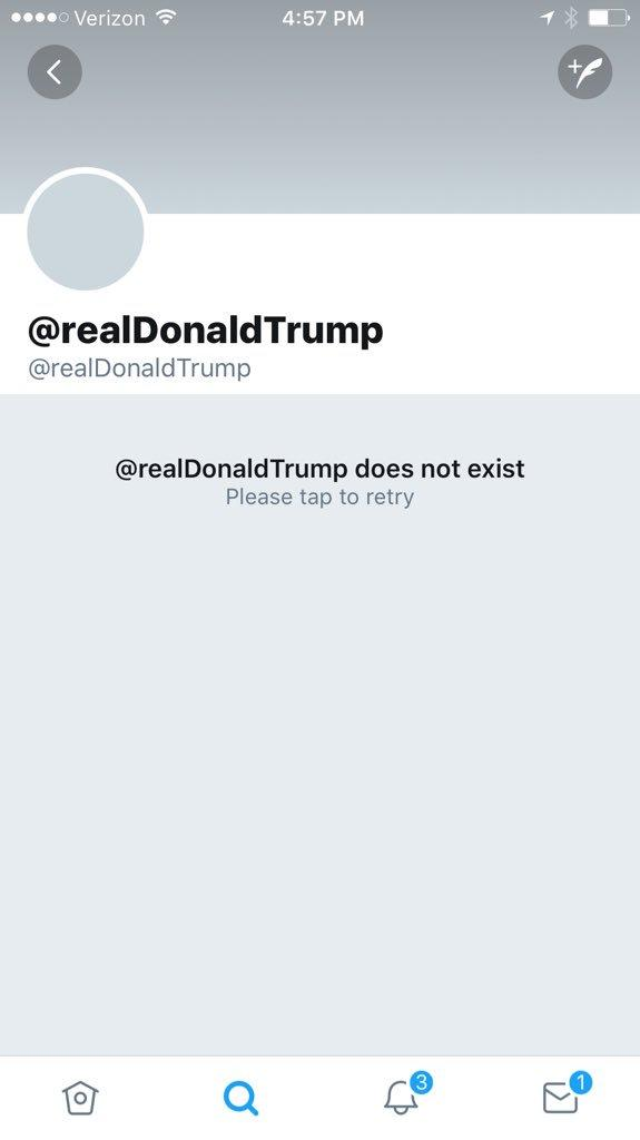 the real donald trump twitter