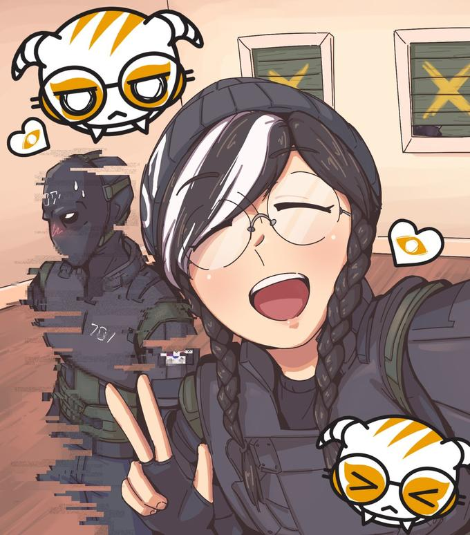 Dokkaebi And Vigil Take A Selfie