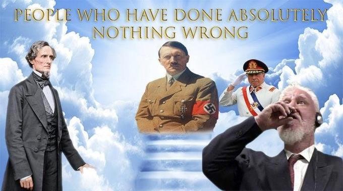 War Criminal Swallowing Court >> Slobodan Praljak's Courtroom Suicide   Know Your Meme
