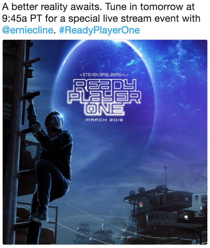 Ready Player One Leg Poster
