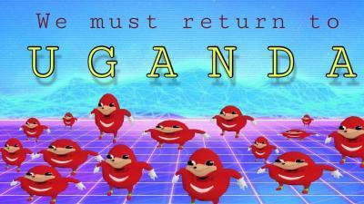 UGANDA FOREVER Ugandan Knuckles Know Your Meme - Where is uganda
