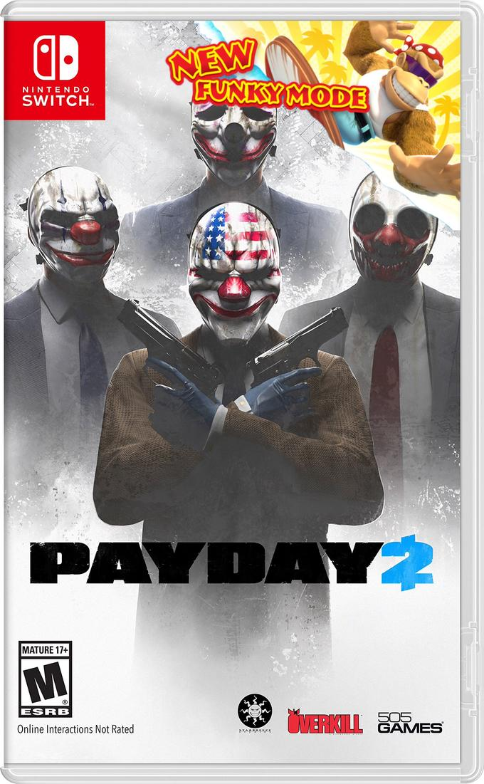 Payday 2 Funky Kong Character Pack New Funky Mode