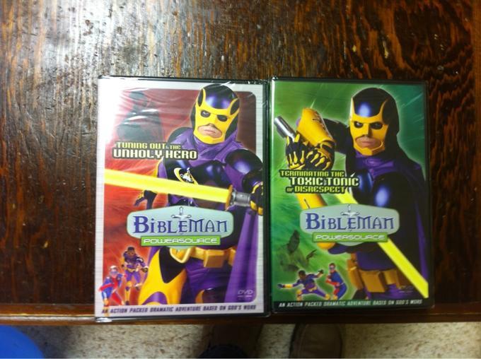 Bibleman Video Game