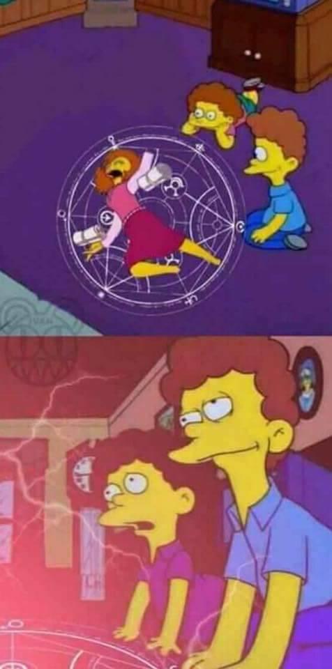 cartoon red yellow text purple art fictional character fiction