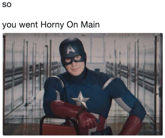 SO you went Horny On Main Spider-Man: Homecoming Iron Man