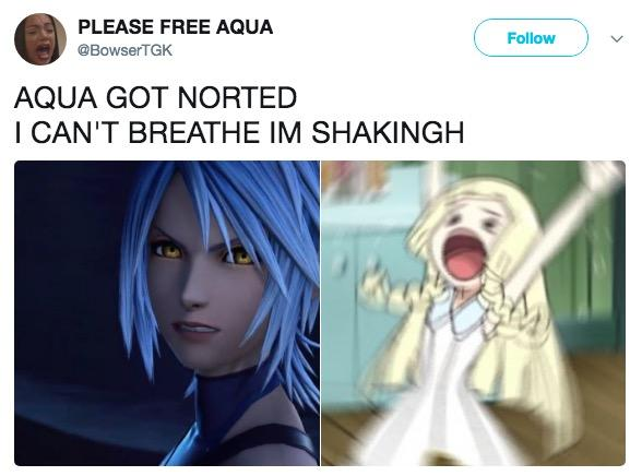 PLEASE FREE AQUA @BowserTGK Follow AQUA GOT NORTED I CAN'T BREATHE IM SHAKINGH