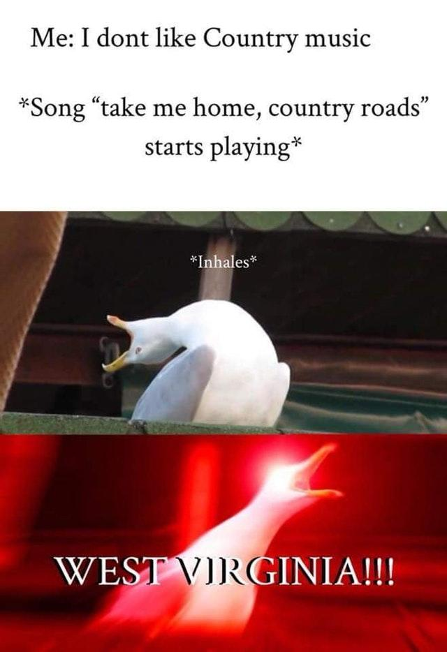 """Take Me Home, Country Roads"" 