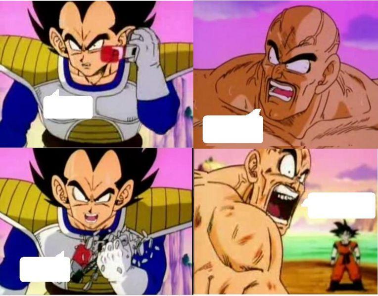 Funny Dragon Ball Z Abridged Memes : Hahaha dragonball comedy