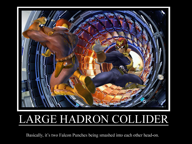 large hadron collider With us president ronald reagan's support, american physicists begin in-depth preparations to build the largest particle collider ever the superconducting super collider (ssc) – a circular accelerator with an 87-kilometre circumference – is designed to smash particles together at 40 tev centre-of-mass energy.