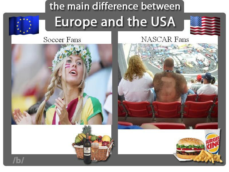 Dating in america vs france
