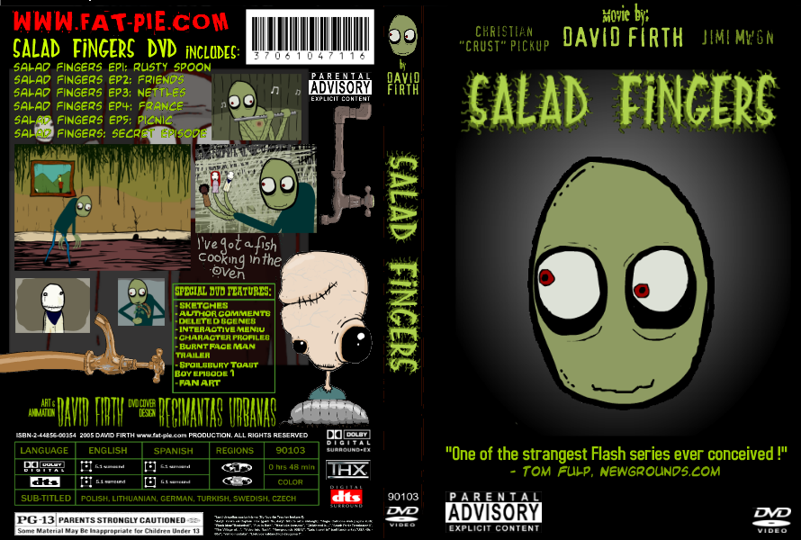 Salad_Fingers_DVD_by_RegisCartoons salad fingers image gallery (sorted by score) know your meme