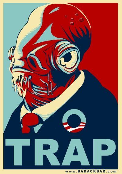 obama poster parody