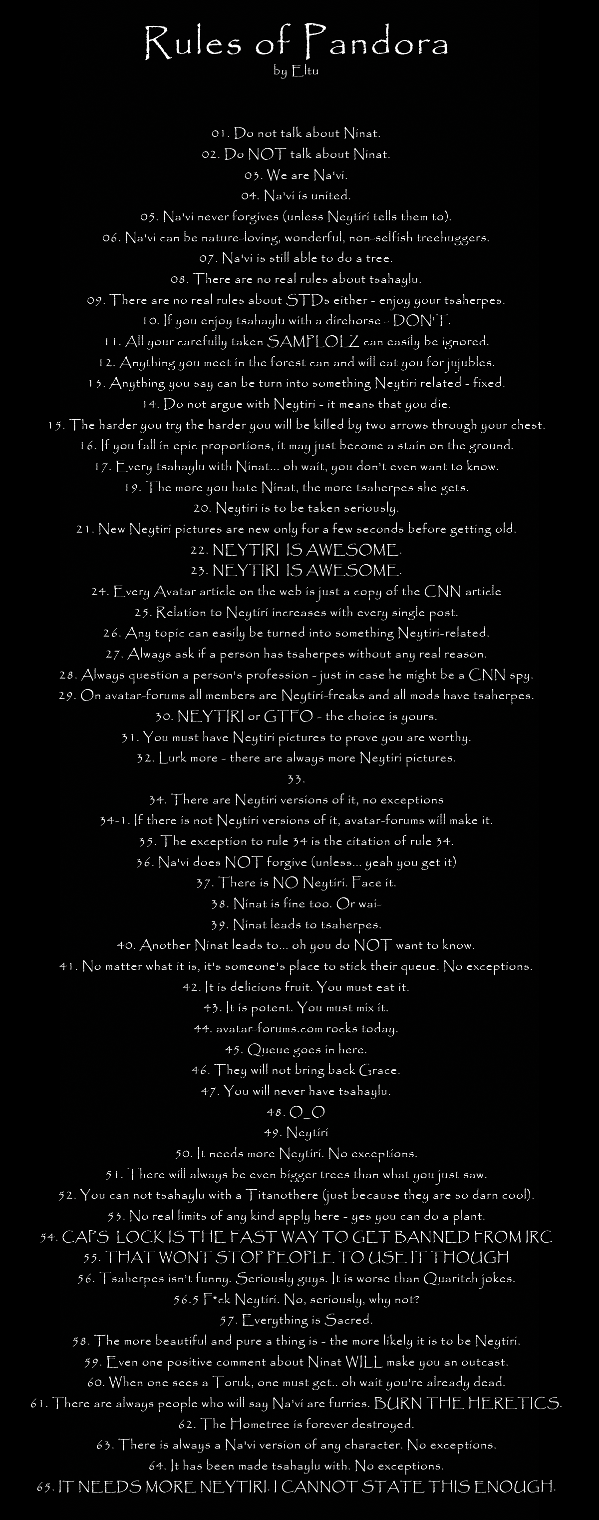 Image - 37873] | Rules of the Internet | Know Your Meme