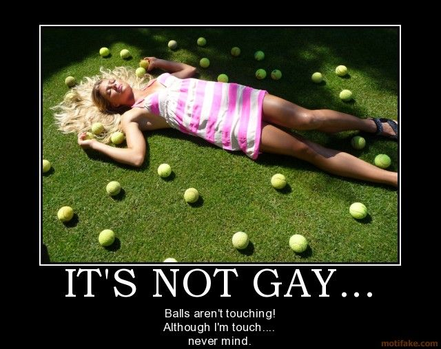 gay balls touching video