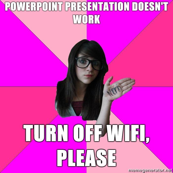 1276112651750 image 53859] idiot nerd girl know your meme,Girl Nerd Meme