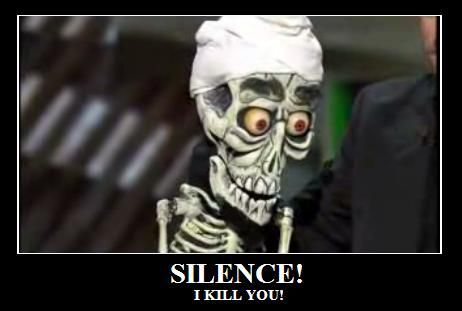 Image 58970 silence i kill you know your meme for Achmed the dead terrorist halloween decoration