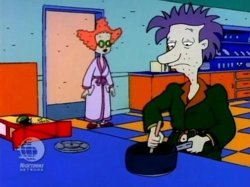 LA I11e Stu Pickles Betty DeVille Chocolate pudding Angelica Pickles  cartoon technology games play