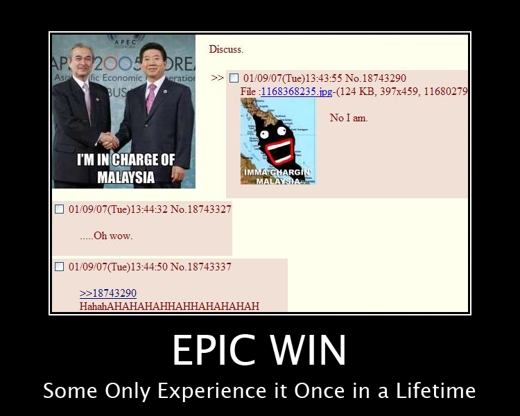 epic win malaysia image 68093] win epic win for the win know your meme