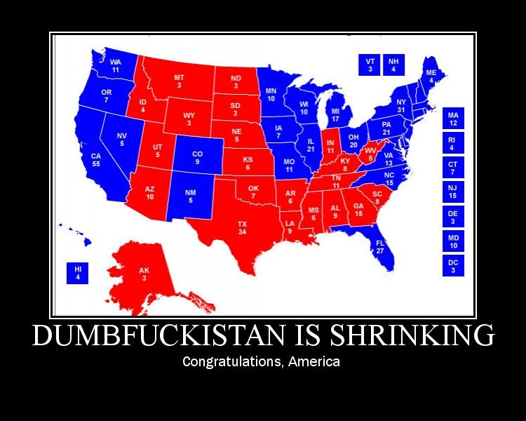 Electoral College Map Parodies Know Your Meme - Us Map Polls Blue And Red