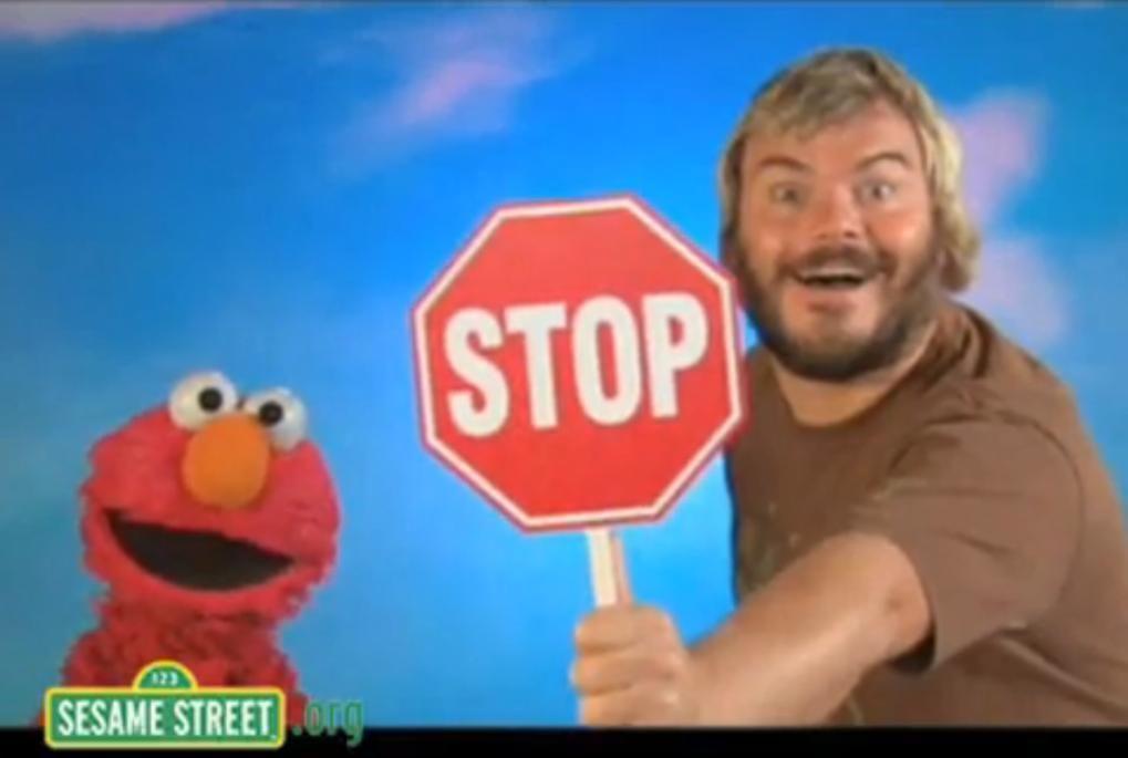 Jack Black Stop Sign Meme Image - 75389] jack black's octagon know ... Jack Black Stop Sign