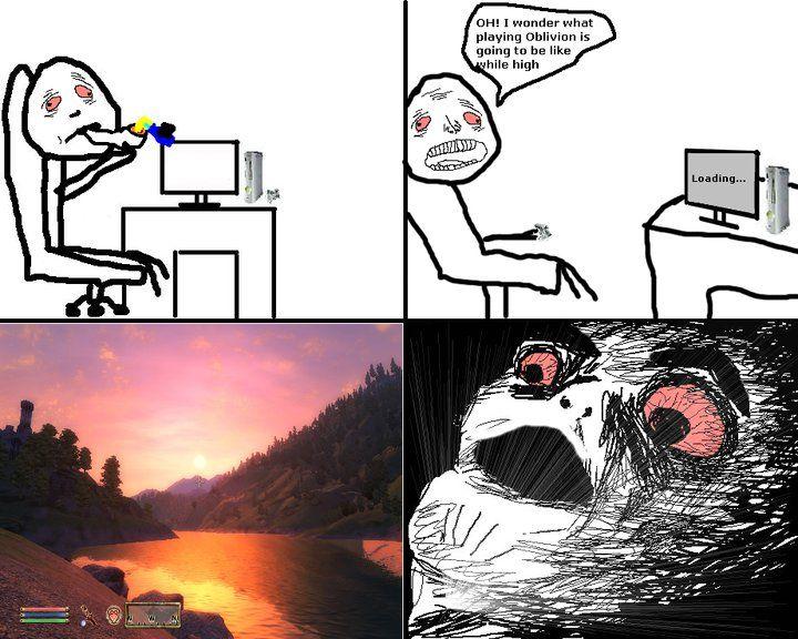 High_Raisins Oblivion image 75876] oh crap omg rage face know your meme
