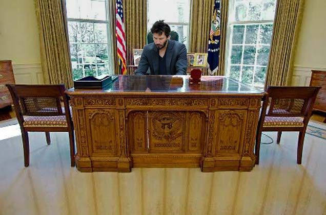 Oval Office Furniture Table