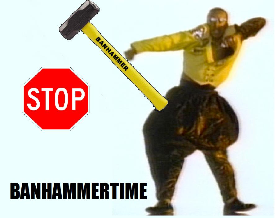 banhammertime image 86900] banhammer know your meme