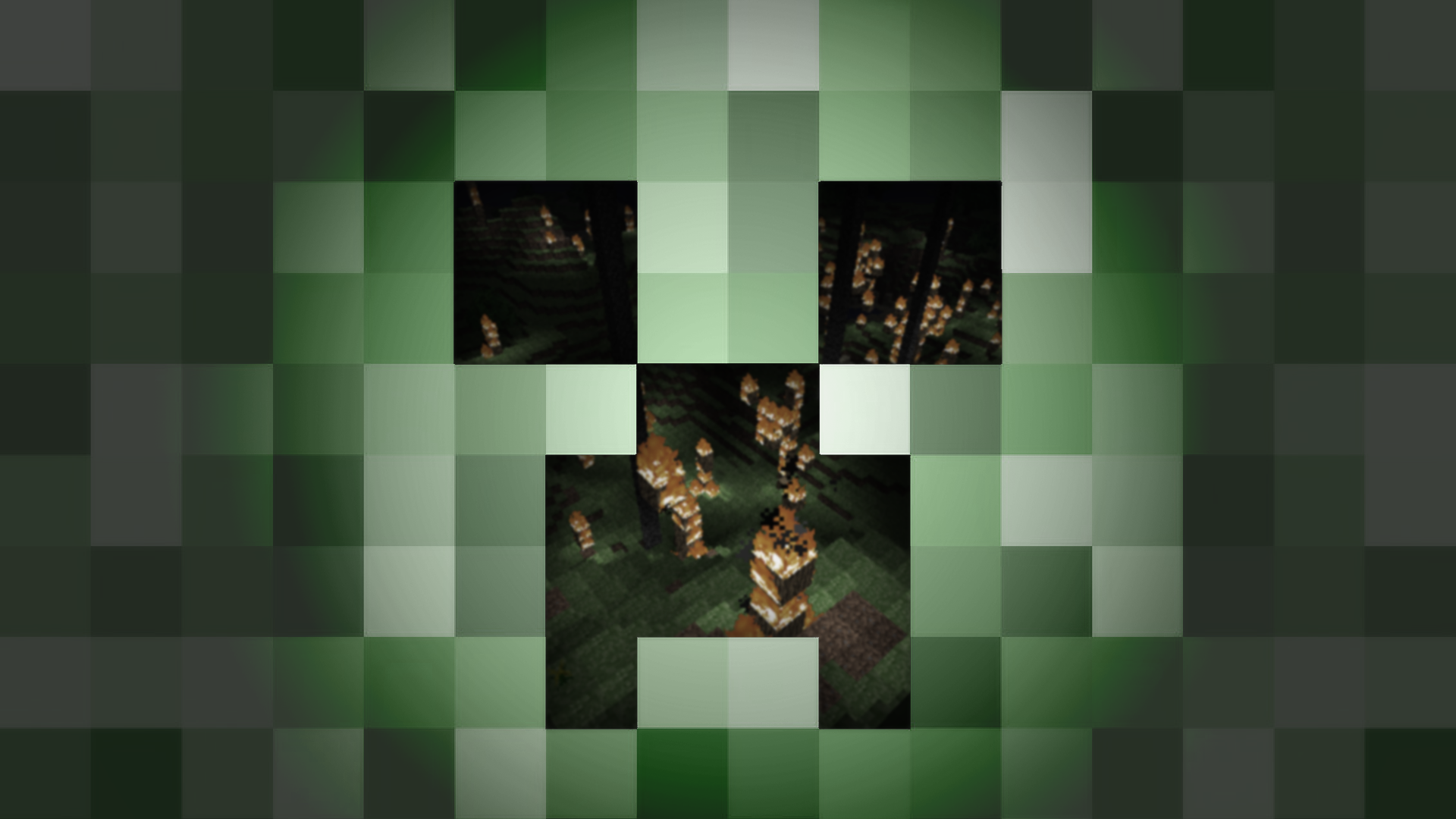 Simple Wallpaper Minecraft Green - minecraft-creeper-wallpaper-1  Graphic_327838.png