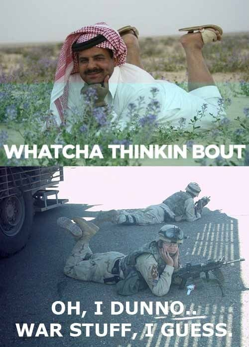 whatcha thinkin bout know your meme